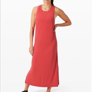 Lululemon Ease of It All Dress Carnation Red NWT